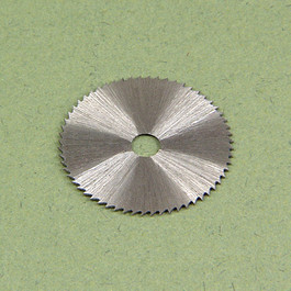 Miniature Saw Blade 3/4 Inch Dia.