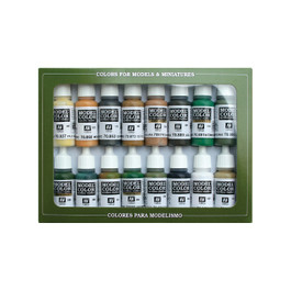 ALLIED WWII PAINT SET