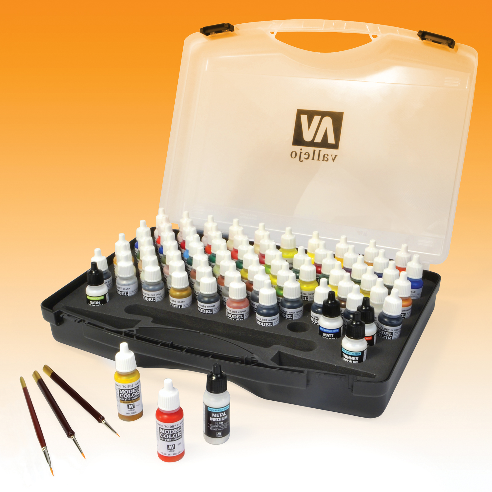 Basic Colors Model Color Paint Set,