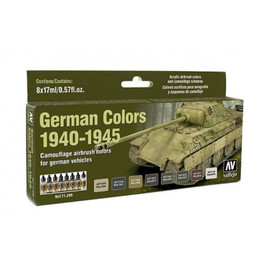 German Colors 1940-1945 Paint Set