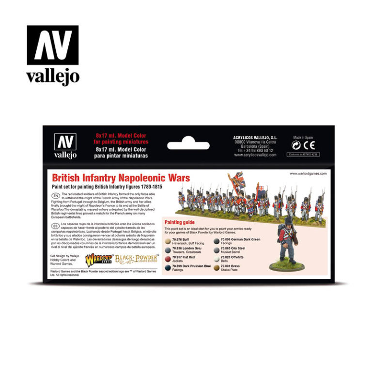 British Infantry Napoleonic warlord
