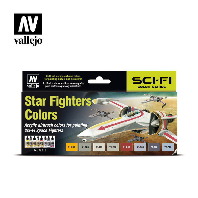 Star Fighter Paint Set