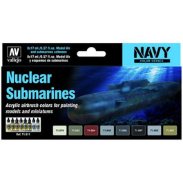 71.611 Submarine Paint Set