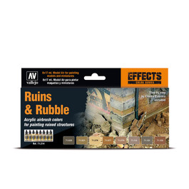 Ruins & Rubble Paint Set