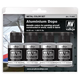Aluminum Dope Paint Set