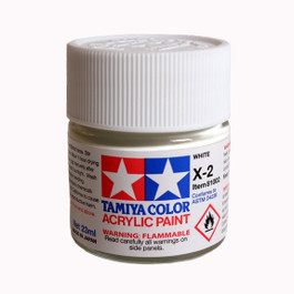 Tamiya X-2 Gloss White Paint