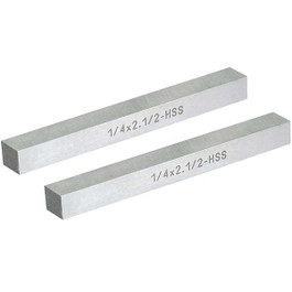 High Speed Tool Blank, 1/4 Inch Squ