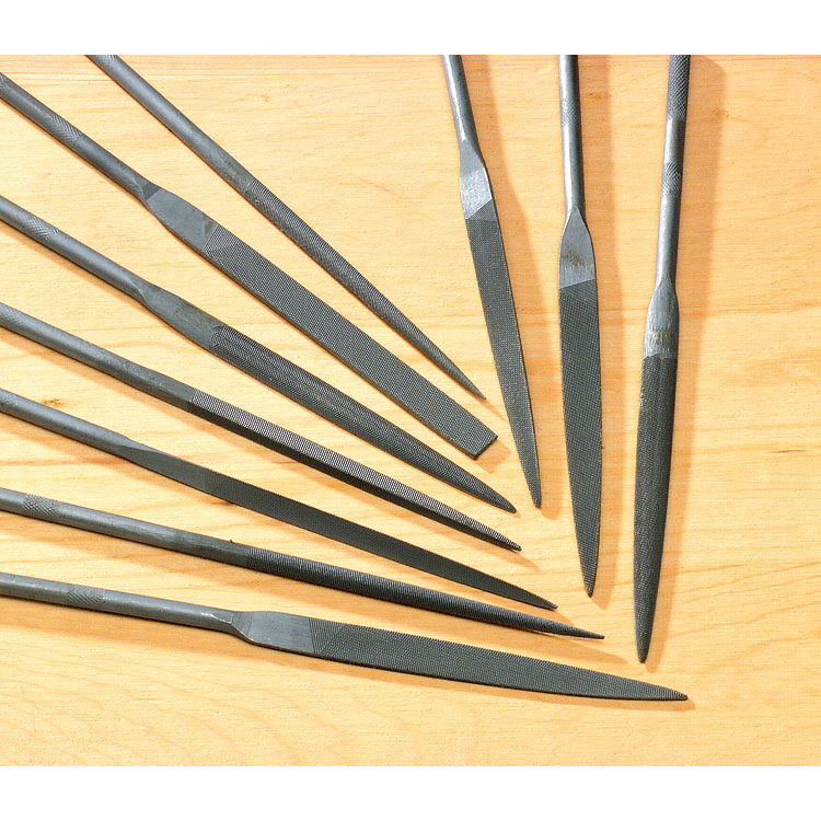 Coarse Needle Files (Pkg. of 10)