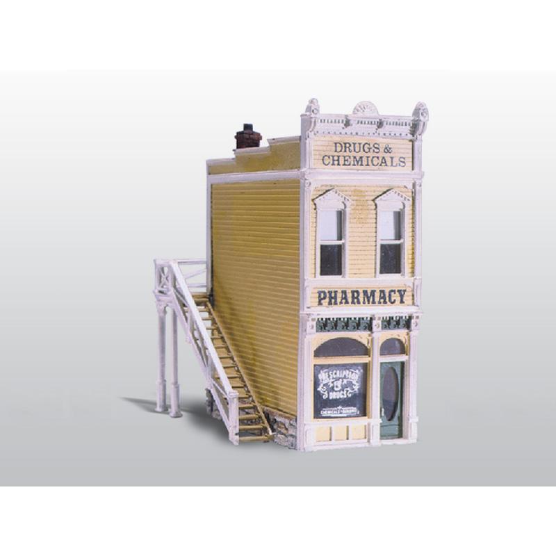 Woodland Scenics Scenic Details HO Scale Pharmacy Kit