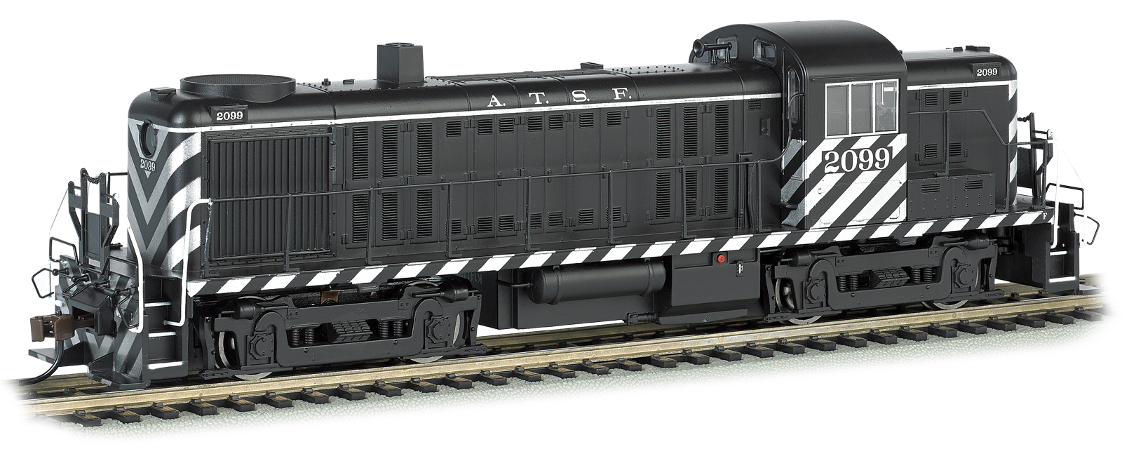 Bachmann Ho Standard Line Alco Rs 3 Diesel Locomotive