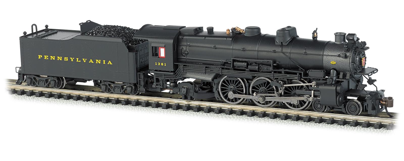 c0797a75e943 Bachmann N Scale Standard Line K4 4-6-2 Steam Locomotive, with ...