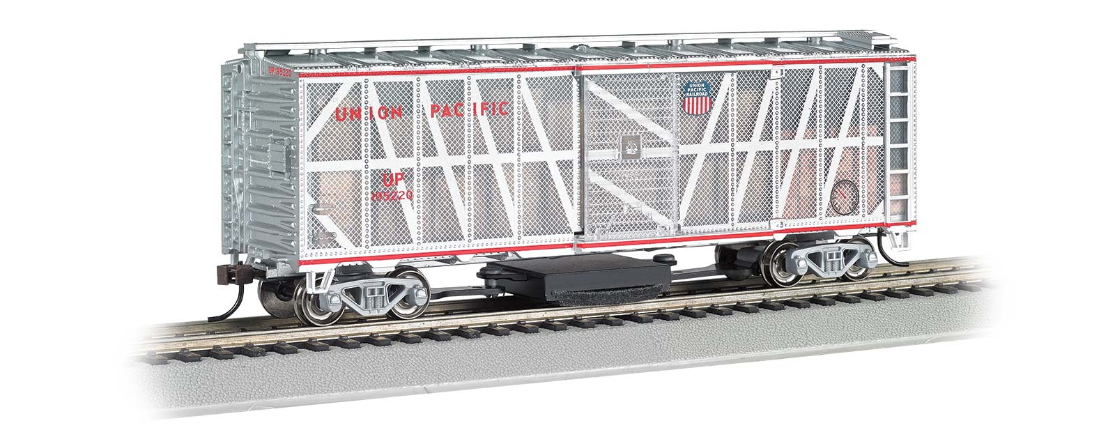 Bachmann ho scale track cleaning 40 box car union pacific list price 5200 biocorpaavc
