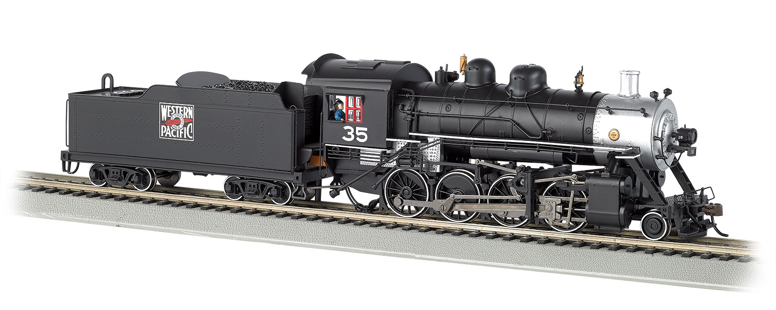 Bachmann N Baldwin 2-8-0 Consolidation Steam Locomotive