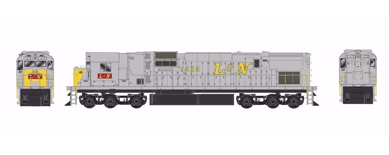 Bowser 24758 Ho Scale Alco C630 Locomotive L Amp N Yellow