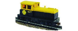 DDT Plymouth Locomotive Santa Fe