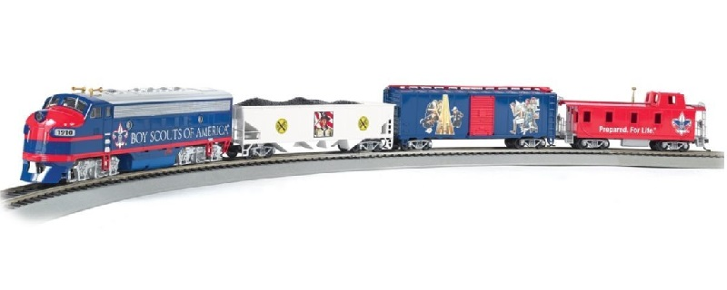 Boy Scouts E-Z APP™ Train Set