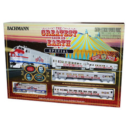 """Greatest Show on Earth"" Train Set"
