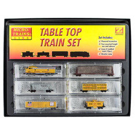 Union Pacific F7 Z Scale Set