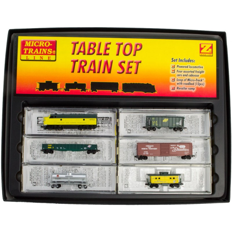 Micro Trains Chicago And North Western F7 Z Scale Train