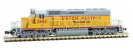 Union Pacific SD40-2 #3654