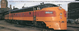 Milwaukee Road Hiawatha - Orange