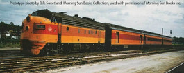 Milwaukee Road FP7 (Modified Orange