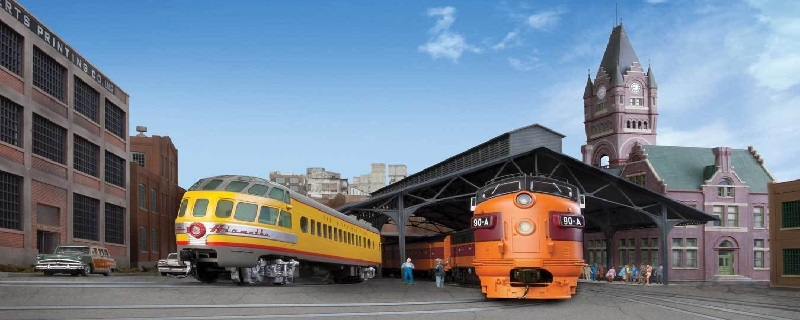 Milwaukee Road 1953 10-Car Twin Cit