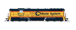 "EMD SD7 ""Chessie"" 1827"