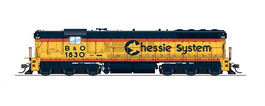 "EMD SD7 ""Chessie"" 1830"