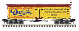 Dold Pkg Co. 36' Wood Reefer