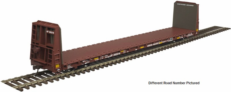 "UP 62"" Bulkhead Flat Car"