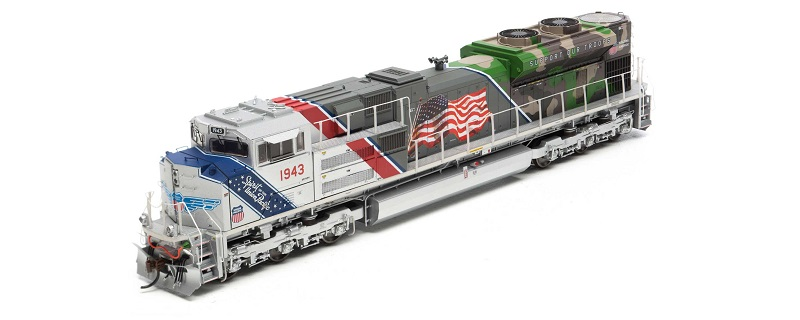 SD70ACe UP/Spirit of UP #1943