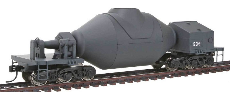 Walthers Hot Metal/Bottle Car Gray