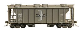 B&M RR Covered Hopper #5535