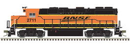GP39-2 Phase II BNSF #2711