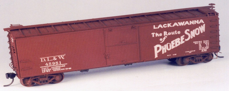 DL&W 40' DS 1924 Boxcar