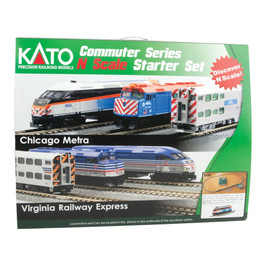 Kato USA Chicago Metra F40PH