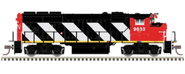 "GP40-2W CN ""Zebra Stripes"""