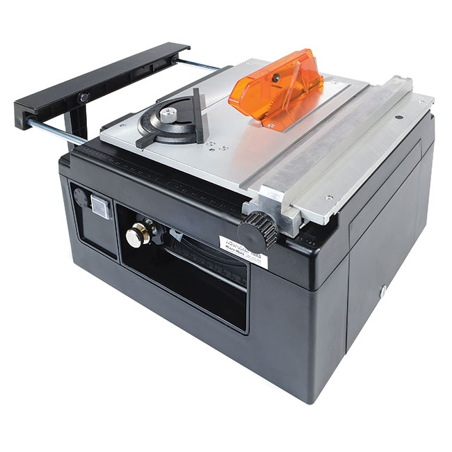 MicroLux® Mini Tilt Arbor Table Saw for Benchtop Hobby Use