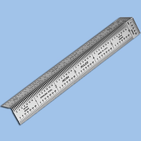 6 inch Precision Bend Rule