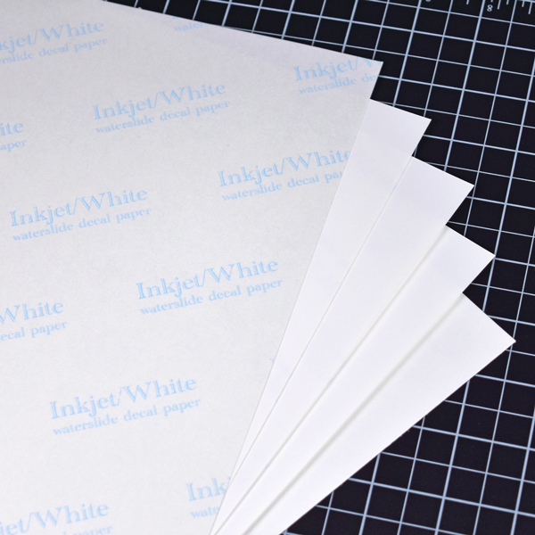 White on White Decal Paper5