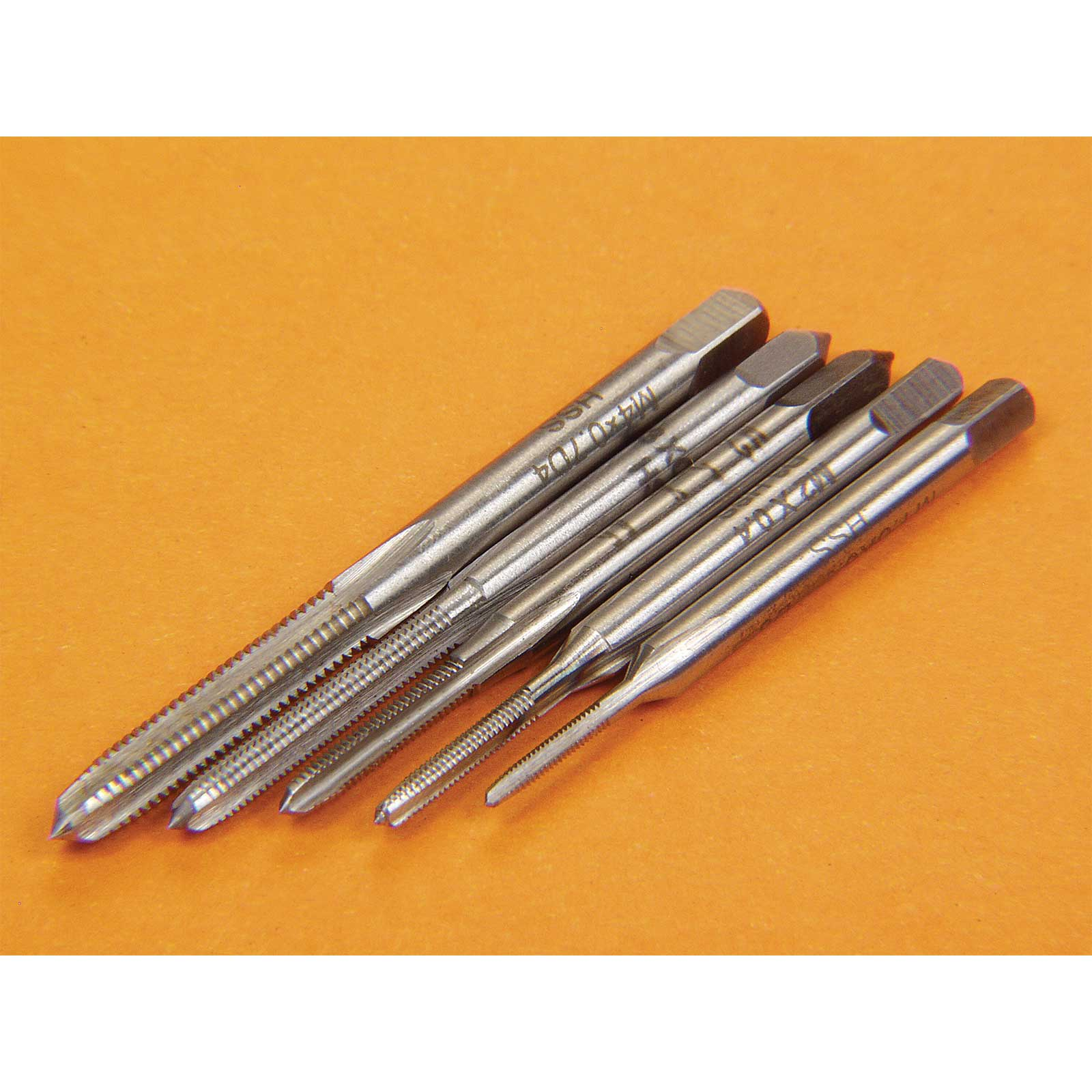 5-Piece Metric Tap Set