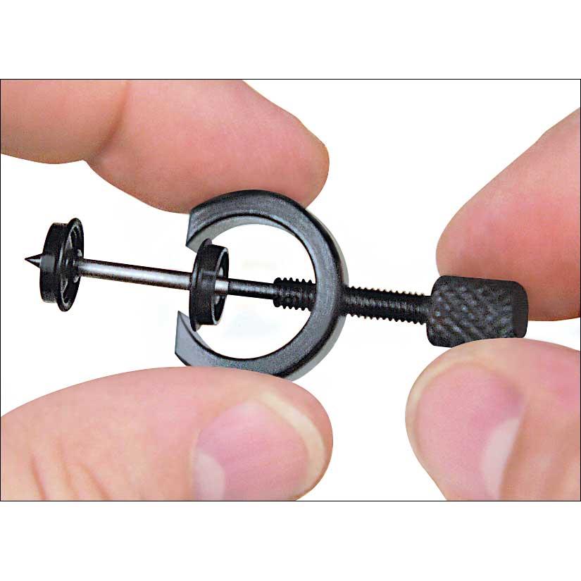 Gear Wheel Puller : Miniature gear and wheel puller inch