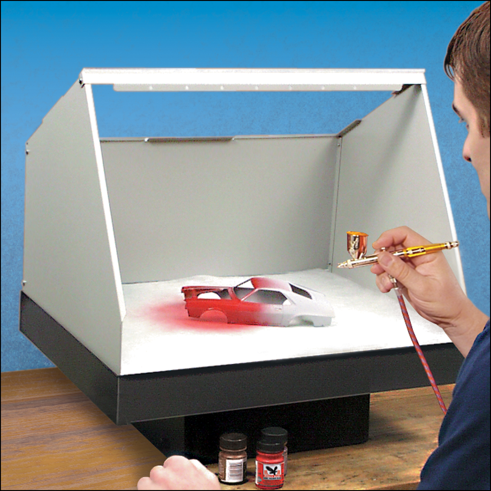 15 Inch X 20 Inch Standard Spray Paint Booth