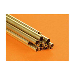 Small Round Brass Tube Ast