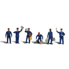 Train Personnel Figure Set, O Scale