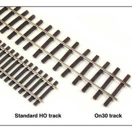 On30 Code 83 Flex Track, Bundle of 6 Pieces