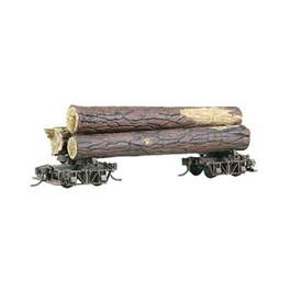 Kadee Truss Rod Style Log Car Kit With Logs Ho Scale