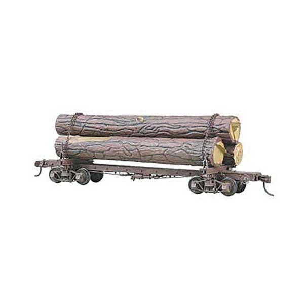 Kadee Skeleton Log Car Kit With Logs Ho Scale