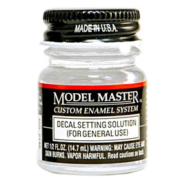 Model Master Decal Setting Solution